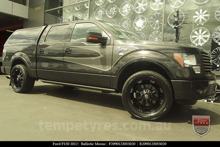 20x9.0 Ballistic Morax on FORD F150