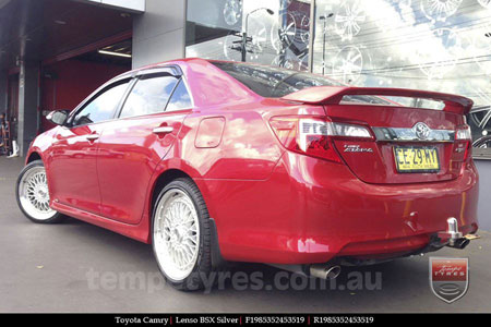19x8.5 Lenso BSX Silver on TOYOTA CAMRY