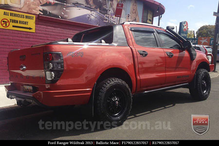 17x9.0 Ballistic Mace on FORD RANGER WILDTRAK