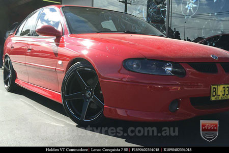 10x7.0 Starcorp E Series on HOLDEN COMMODORE VT