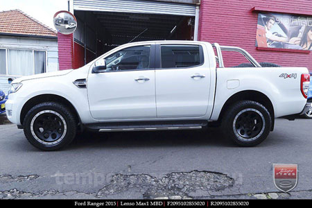 20x9.5 Lenso Max1 MBD on FORD RANGER