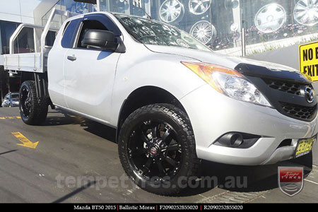 20x9.0 Ballistic Morax on MAZDA BT50