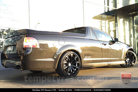 20x8.5 20x10 Sothis SC101 on HOLDEN VF STORM UTE