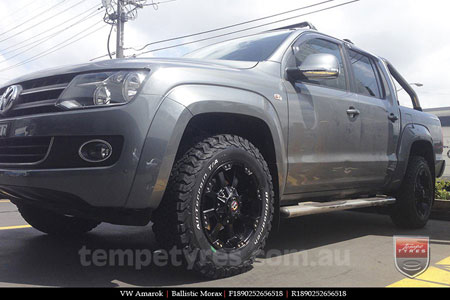 18x9.0 Ballistic Morax on VW AMAROK
