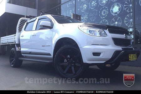 20x9.0 Lenso RT-Concave on HOLDEN COLORADO