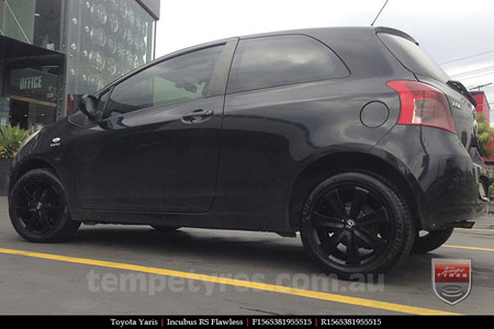15x6.5 RS Flawless 0450 on TOYOTA YARIS