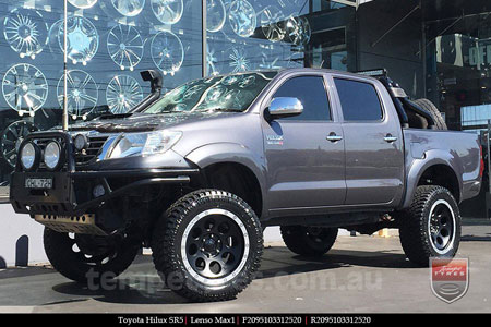 20x9.5 Lenso Max1 MBD on TOYOTA HILUX SR5