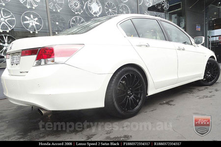 18x8.0 Lenso Speed 2 SP2 on HONDA ACCORD