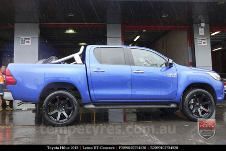 20x9.0 Lenso RT-Concave on TOYOTA HILUX