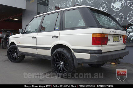 20x8.5 20x10 Sothis SC101 on RANGE ROVER VOGUE