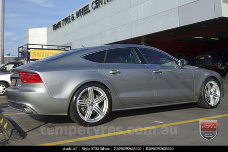20x9.0 Style5733 on AUDI A7
