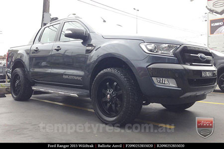 20x9.0 Ballistic Anvil on FORD RANGER