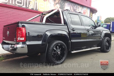 20x9.0 Ballistic Morax on VW AMAROK