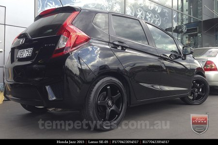 17x7.0 Lenso SE-05 on HONDA JAZZ
