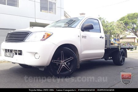 18x8.0 18x9.5 Lenso Conquista 6 CQ6 on TOYOTA HILUX 2WD