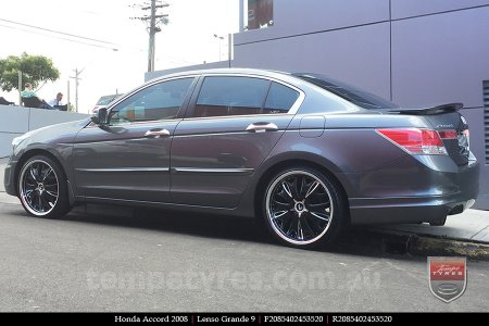 20x8.5 Lenso Grande9 on HONDA ACCORD