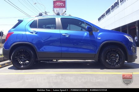 18x8.0 Lenso Speed 3 SP3 on HOLDEN TRAX