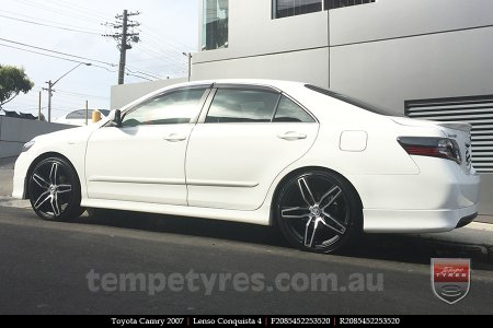 20x8.5 20x9.5 Lenso Conquista 4 CQ4 on TOYOTA CAMRY