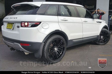 20x8.5 20x10 Sothis SC102 GB on RANGE ROVER EVOQUE