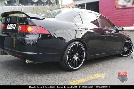 19x8.5 Lenso Type-M MBJ on HONDA ACCORD EURO