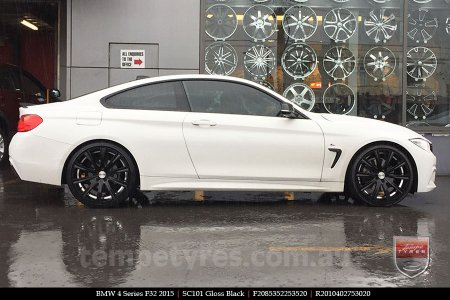 20x8.5 20x10 Sothis SC101 GB on BMW 4 SERIES