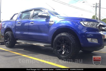 18x9.0 Ballistic Jester on FORD RANGER
