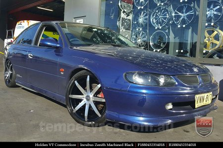 18x8.0 Incubus Zenith - MB on HOLDEN VT COMMODORE