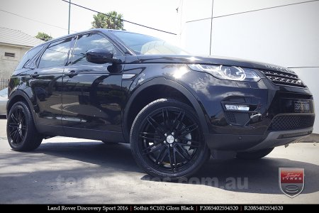 20x8.5 20x10 Sothis SC102 GB on LAND ROVER DISCOVERY SPORT