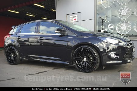 20x8.5 20x10 Sothis SC102 GB on FORD FOCUS