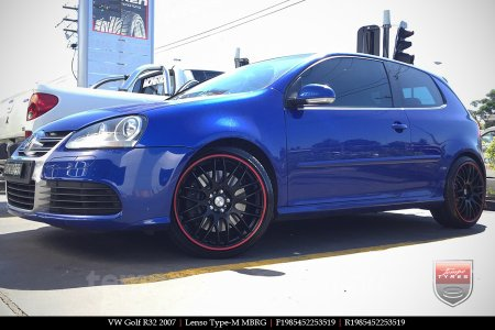 19x8.5 Lenso Type-M MBRG on VW GOLF