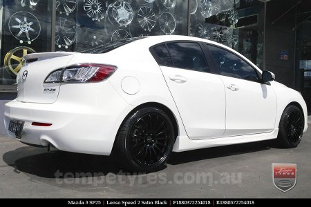 18x8.0 Lenso Speed 2 SP2 on MAZDA 3