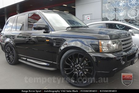 22x10 Autobiography Y342 SB on RANGE ROVER SPORT