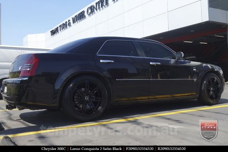 20x9.0 20x10 Lenso Conquista 2 SB CQ2 on CHRYSLER 300C