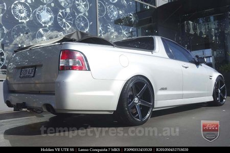 20x9.0 20x10.5 Lenso Conquista 7 MKS CQ7 on HOLDEN VE UTE