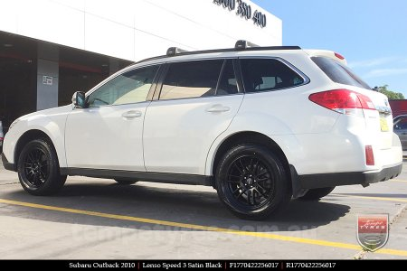 17x7.0 Lenso Speed 3 SP3 on SUBARU OUTBACK
