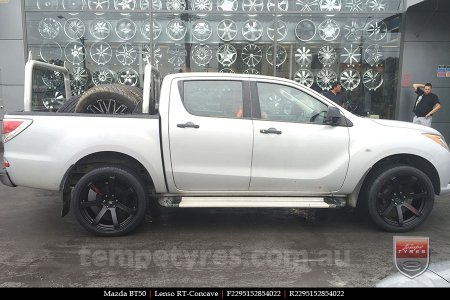 22x9.5 Lenso RT-Concave on MAZDA BT50