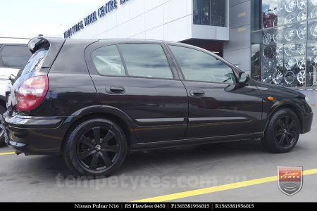 15x6.5 RS Flawless 0450 on NISSAN PULSAR