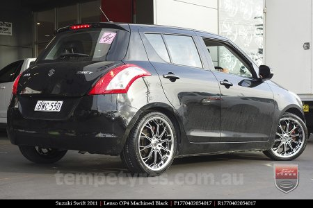 17x7.0 Lenso OP4 on SUZUKI SWIFT
