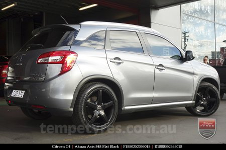 18x8.0 Akuza Axis 848 FB on CITROEN C4