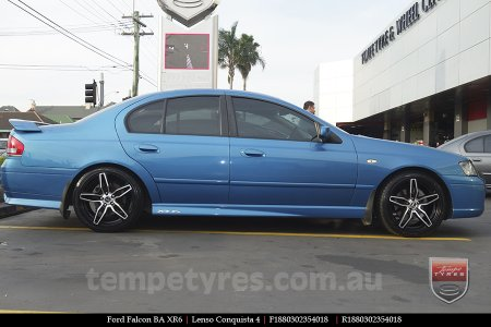 18x8.0 18x9.0 Lenso Conquista 4 CQ4 on FORD FALCON