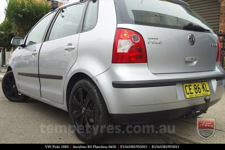 15x6.5 RS Flawless 0450 on VW POLO