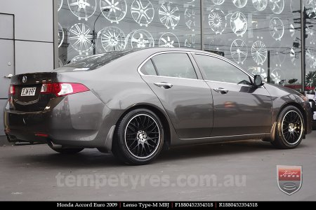 18x8.0 Lenso Type-M MBJ on HONDA ACCORD EURO