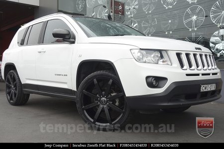20x8.5 Incubus Zenith - FB on JEEP COMPASS
