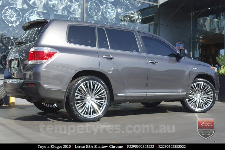 22x9.0 Lenso ESA on TOYOTA KLUGER
