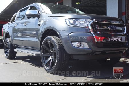 22x9.5 Lenso RT-Concave on FORD RANGER