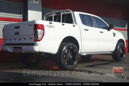 20x9.0 Ballistic Morax on FORD RANGER