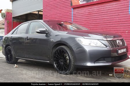 19x8.5 19x9.5 Lenso Speed 2 SP2 on TOYOTA AURION