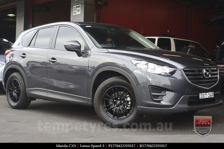 17x7.0 Lenso Speed 3 SP3 on MAZDA CX5
