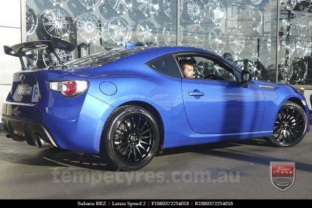 18x8.0 Lenso Speed 2 SP2 on SUBARU BRZ
