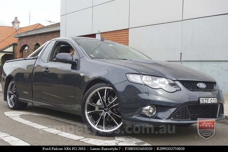 20x8.5 20x9.5 Lenso Eurostyle 7 ES7 on FORD FALCON